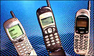 Wap phones from Nokia, Mitsubishi and Motorola