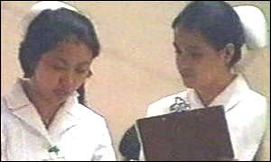 Filipino nurses