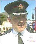 Divisional Fire Officer David Blair