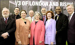 London mayoral candidates