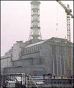 Chernobyl nuclear powerstation