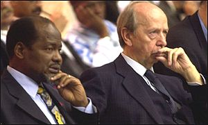 Chissano and Dini