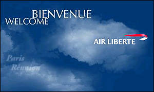 Air Liberte and BA logo
