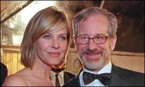 Steven Spielberg  and wife Kate Kapshaw: