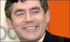 UK Chancellor Gordon Brown