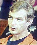 Serial killer Jeffery Dahmer