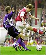 Arsenal v Sheff Weds