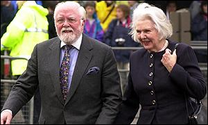 Lord and Lady Attenborough at opening of Tate Modern