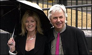 Julia Somerville and her husband Sir Jeremy Dixon