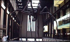 Louise Bourgeois' spider sculpture at Tate Modern