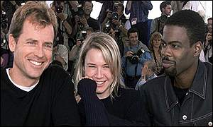 Greg Kinnear, Ren�e Zellweger and Chris Rock at Cannes