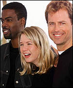 Chris Rock, Ren�e Zellweger and Greg Kinnear at Cannes