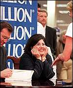 Andrew Morton and Monica Lewinsky