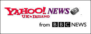 Yahoo! UK and Ireland and BBC logos