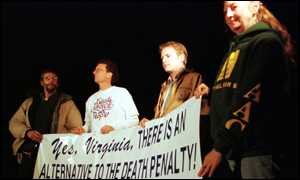 Death penalty protest