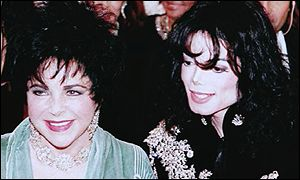 Michael Jackson at Taylor's 65th birthday in 1997