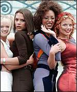 Emma Bunton, Victoria Adams, Melanie Brown and Geri Halliwell