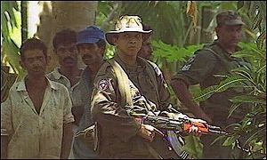 Sri Lankan government troops