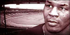Mike Tyson and Hampden Park
