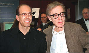 Jeffrey Katzenberg and Woody Allen