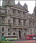 Glasgow Council chambers