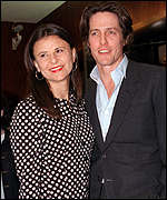 Tracy Ullman and Hugh Grant