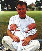 Jim Todd and twins