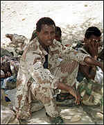 Eritrean captives