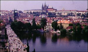 The old city of Prague
