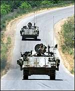 Israeli armoured vehicles