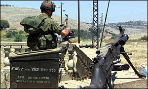 Israeli position in South Lebanon