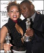 Angela Griffin and David Harewood