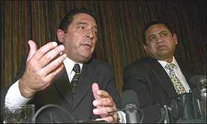 South African Cricket Board chief Ali Bacher