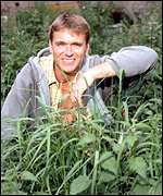 Andy Sturgeon from the BBC's Gardening Neighbours