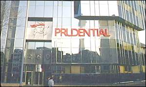 Prudential headquarters in London