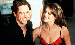 Hugh Grant and Liz Hurley
