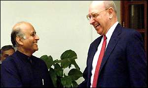 Thomas Pickering with Lalit Mansingh