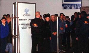 Sega Dreamcast queue
