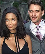 Thandie Newton and Dougray Scott