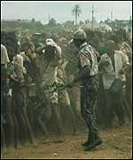 Captives and soldiers after Biafran war
