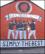 Loyalist graffiti