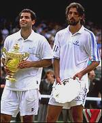 Ivanisevic comes in second to Sampras