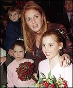 The Duchess with Beatrice and Eugenie