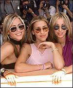 Natalie Appleton, Melanie Blatt and Nicole Appleton