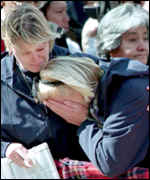 Mourners for Diana, Princess of Wales