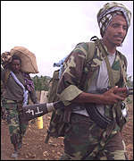 Eritrean troops pulling back