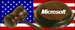 US flag, microsoft graphic