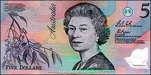 A$5 note