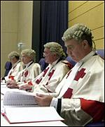 Three Scottish judges, and one in reserve