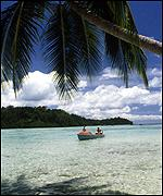View of the Solomon Islands